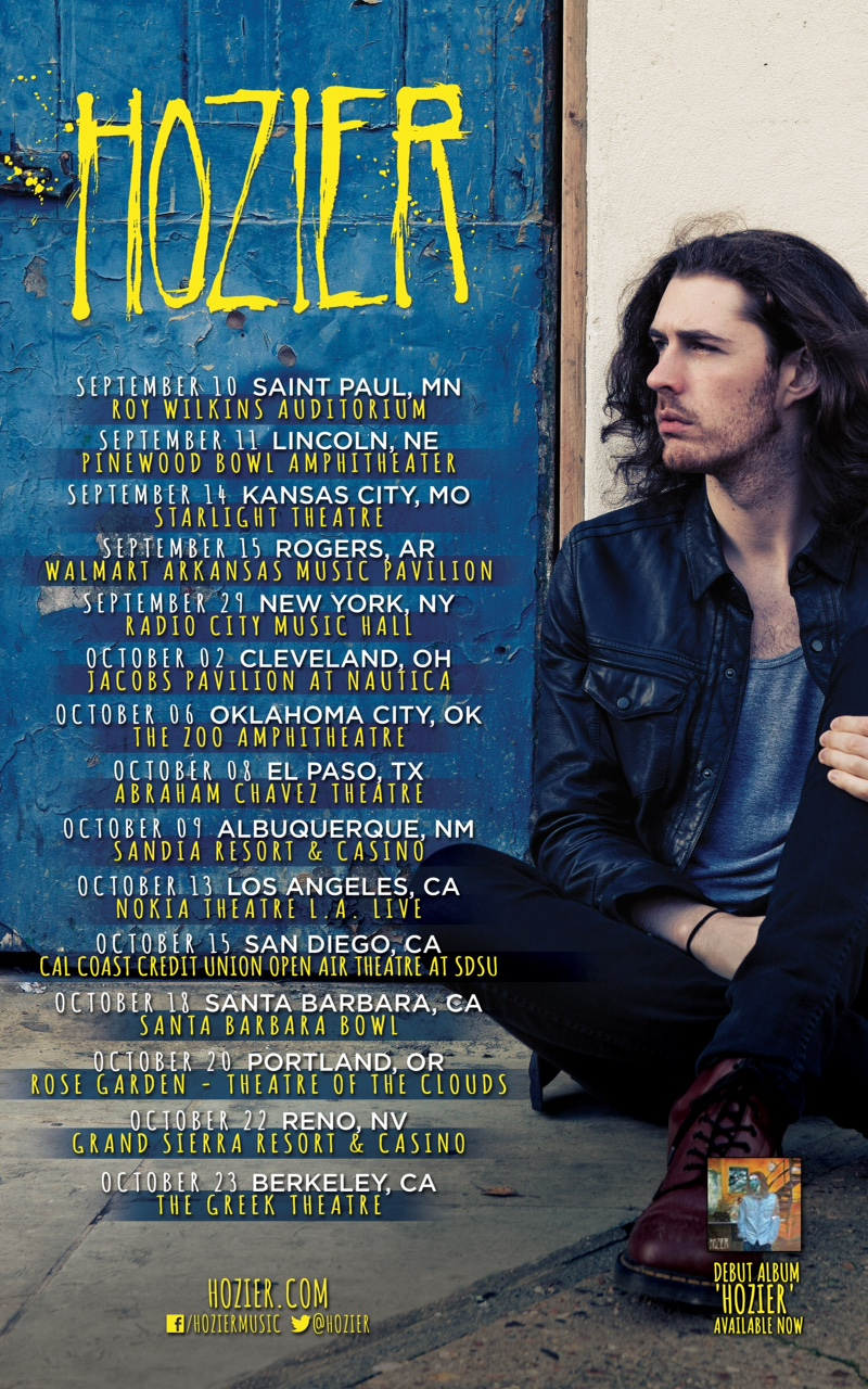 Hozier has added a show at London's O2 Shepherd's Bush Empire to his ...