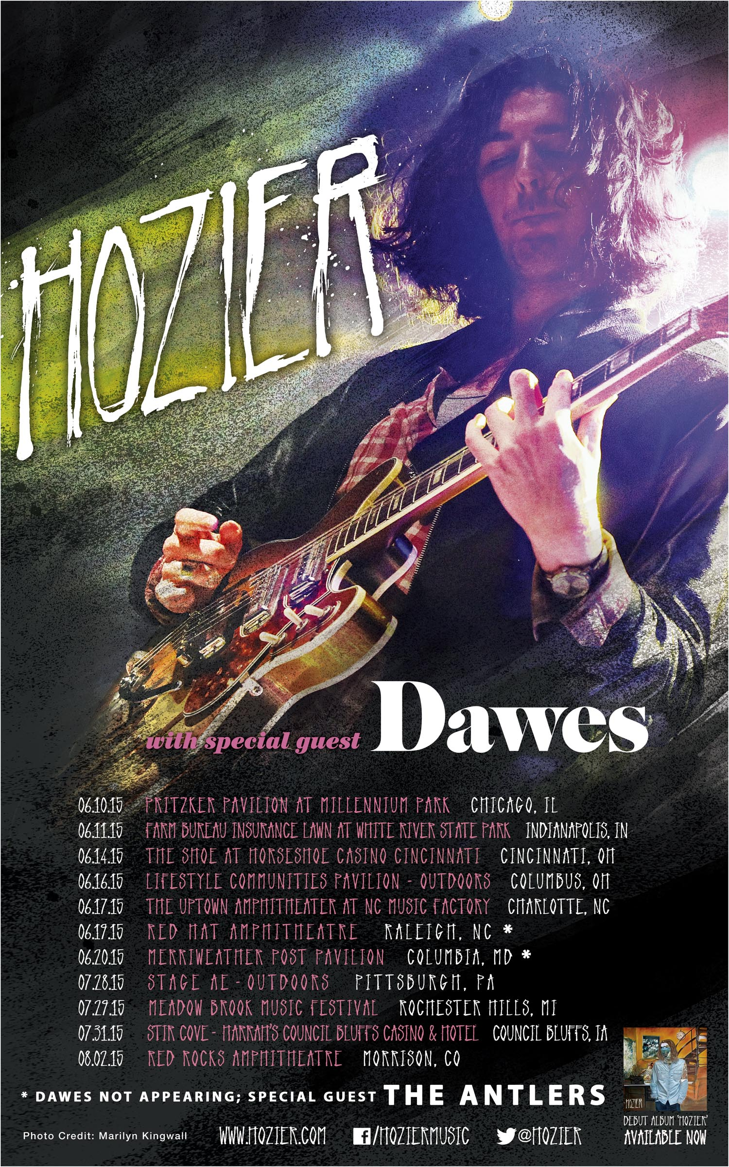 ... 751744678212202_7715182069520827015_n-Hozier Confirms 2015 Tour Dates