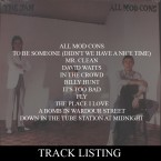 Click to view the tracklisting for ALL MOD CONS