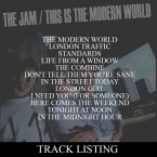 Click to view the tracklisting for THIS IS THE MODERN WORLD