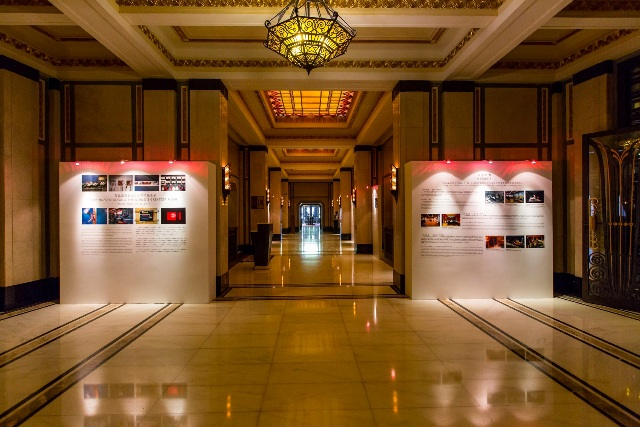 An exciting new exhibition which celebrates Abbey Road's history a the Fairmont Hotel, Shanghai