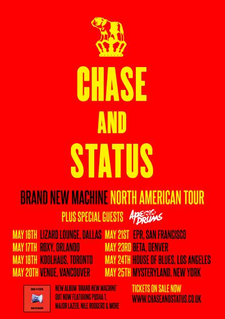 Chase And Status Tour Uk