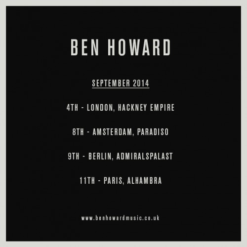 Ben Howard_show