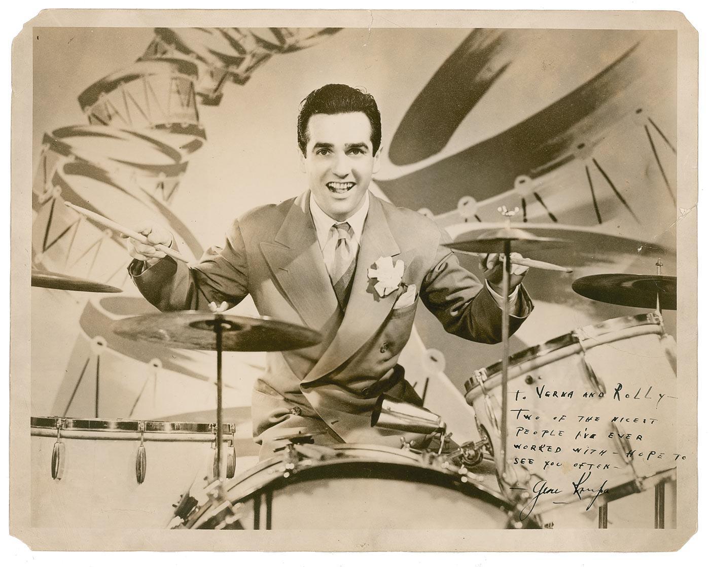 Gene Krupa – Drummin' Man