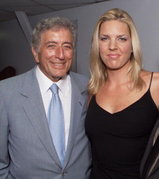 'Two for the Road' tour with Tony Bennett and Diana Krall