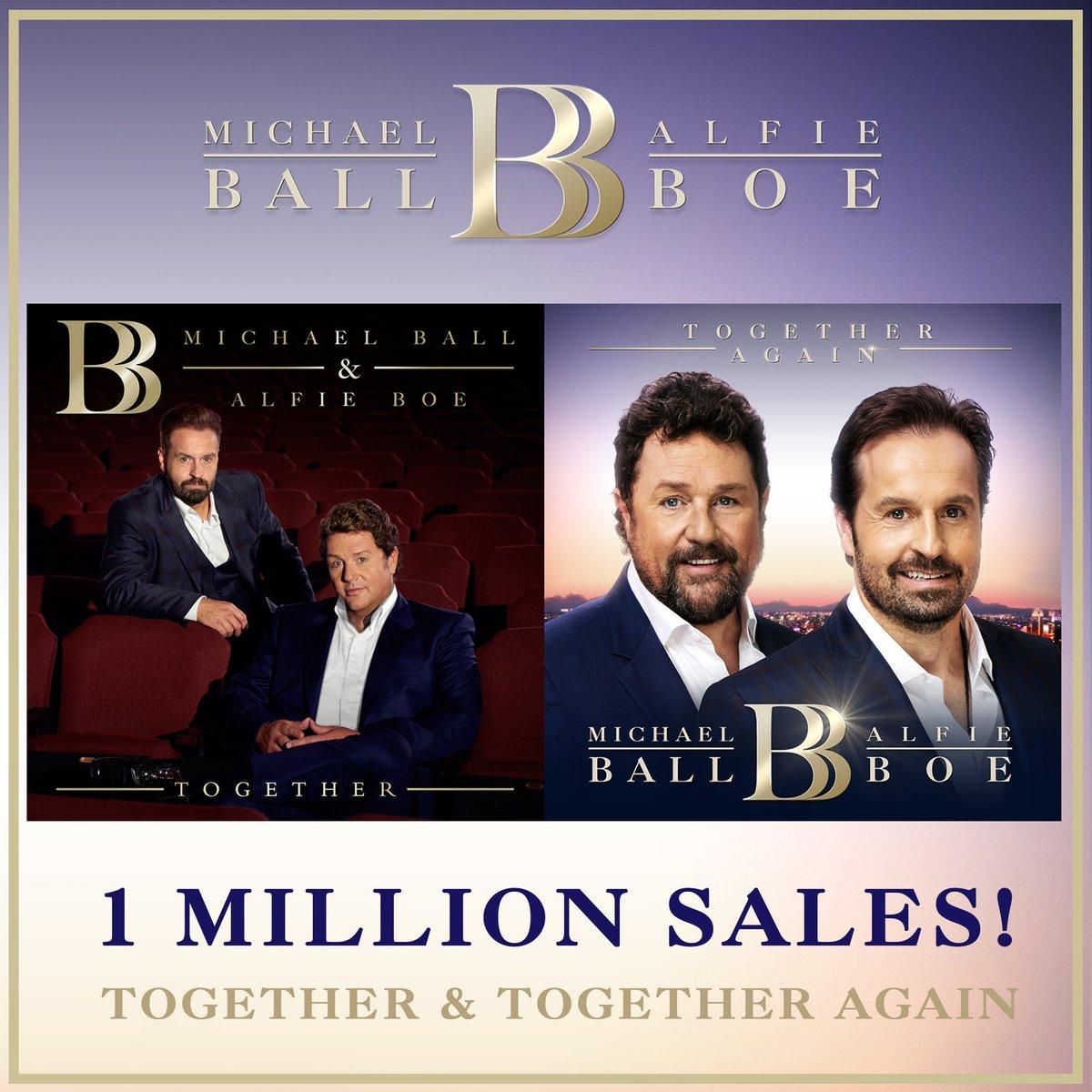 1 million sold albums!
