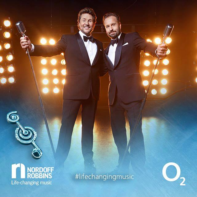 Ball/Boe win the PPL UK Classical Award at Nordoff Robbins' O2 Silver Clefs!