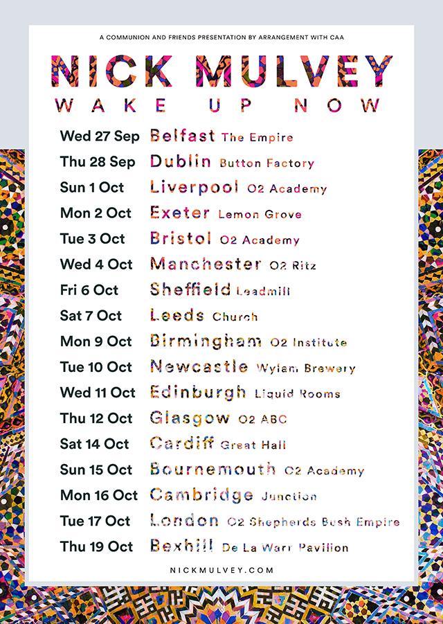 Nick Mulvey Tour Autumn 2017 v3 Web