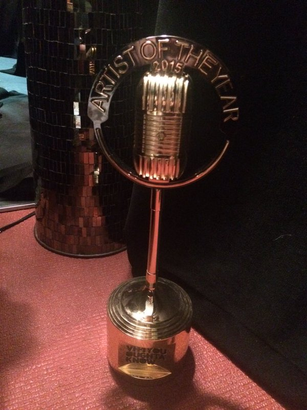 VH1 award statue