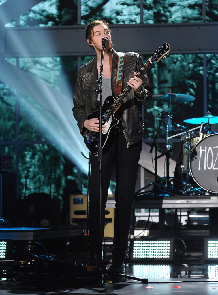 NEW YORK - NOVEMBER 12: Hozier performs on the 'VH1 Big Music in 2015: You Oughta Know' show at the Armory Foundation on November 12, 2015 in New York City. (Photo by Frank Micelotta/PictureGroup)