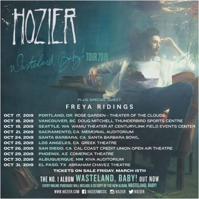New North American Tour Dates Announced - Hozier