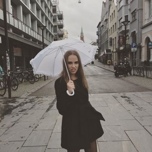 @marthevikoren doesn't like rain.