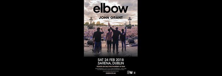 elbow to play Dublin's 3Arena