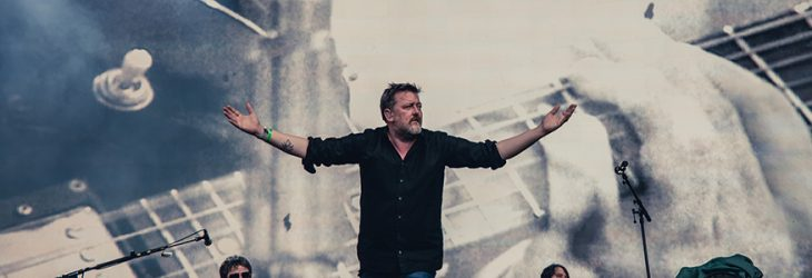 ELBOW PERFORM MAGNIFICENT (SHE SAYS) LIVE IN HYDE PARK