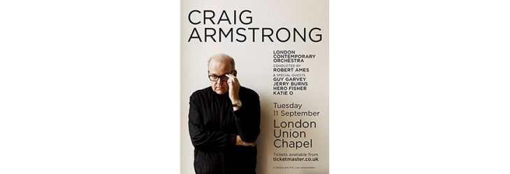 Guy Garvey to be special guest at Craig Armstrong gig