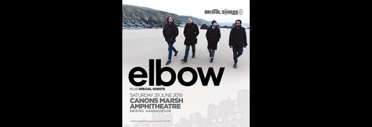 ELBOW TO PLAY CANONS MARSH AMPHITHEATRE FOR BRISTOL SOUNDS.