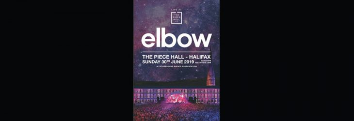 ELBOW TO PLAY THE PIECE HALL HALIFAX