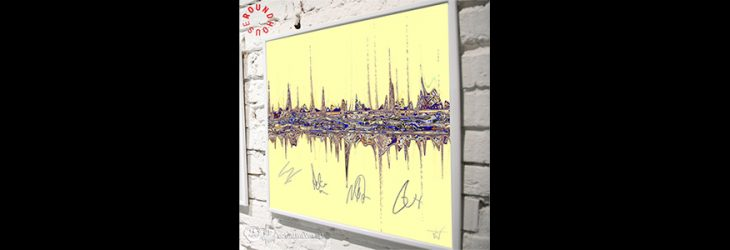 'ONE DAY LIKE THIS' SOUNDWAVES ARTWORK IN SUPPORT OF THE ROUNDHOUSE TRUST