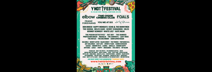 ELBOW TO PLAY Y NOT FESTIVAL