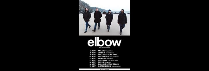 ELBOW ANNOUNCE EUROPEAN DATES FOR NOVEMBER 2019