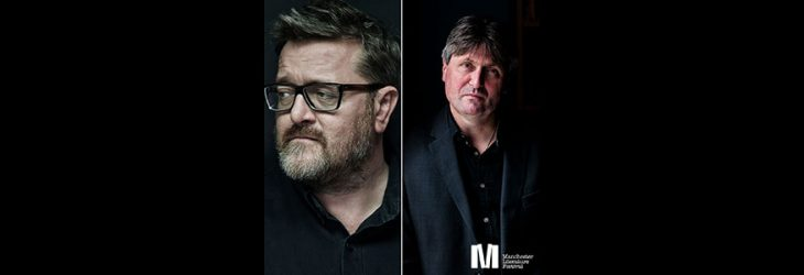 GUY IN CONVERSATION WITH SIMON ARMITAGE AT MLF 2019