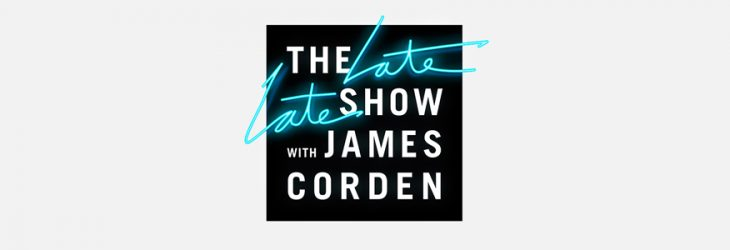 THE LATE LATE SHOW WITH JAMES CORDEN TONIGHT