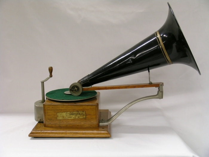 The first in our #EMIGramophones series is: The Trade Mark Gramophone! #music #vintage #heritage