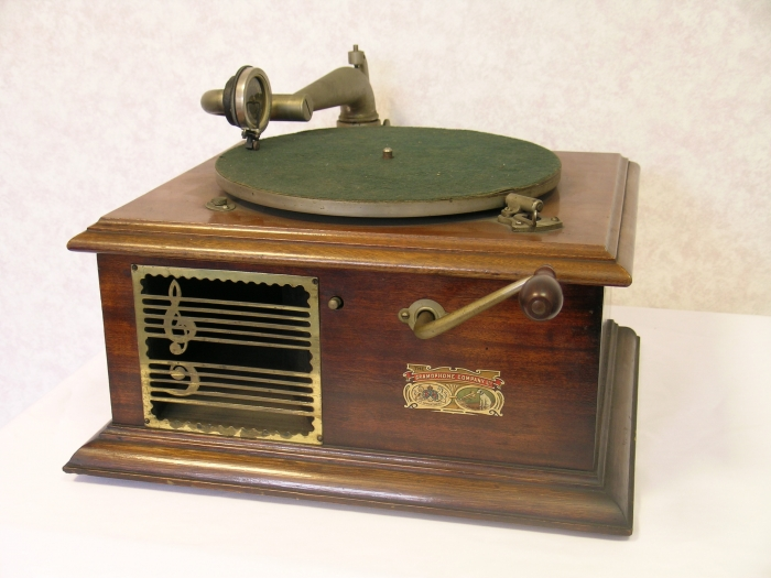The fifth Gramophone in our #EMIGramophones series is: The Pigmy Grand. #music #vintage #heritage