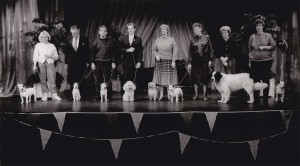 Nipper (third from left), with other finalists from the That's Life competition