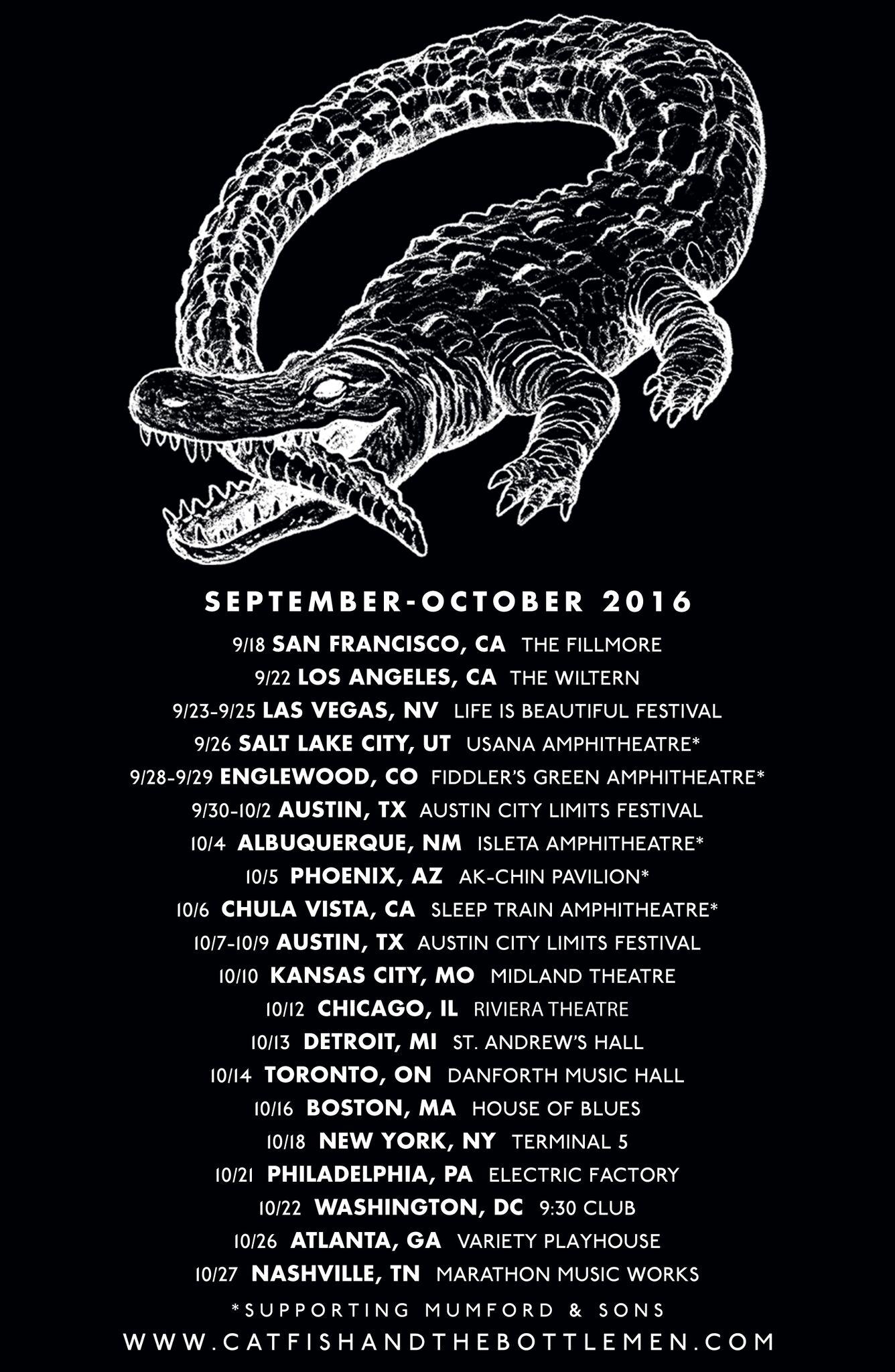 Catfish And The Bottlemen Tour 2020 Live   Catfish and the Bottlemen