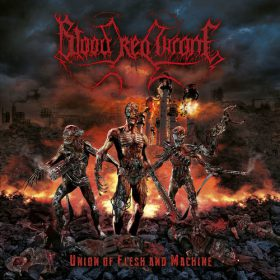 Blood Red Throne - Union of Flesh and Machine