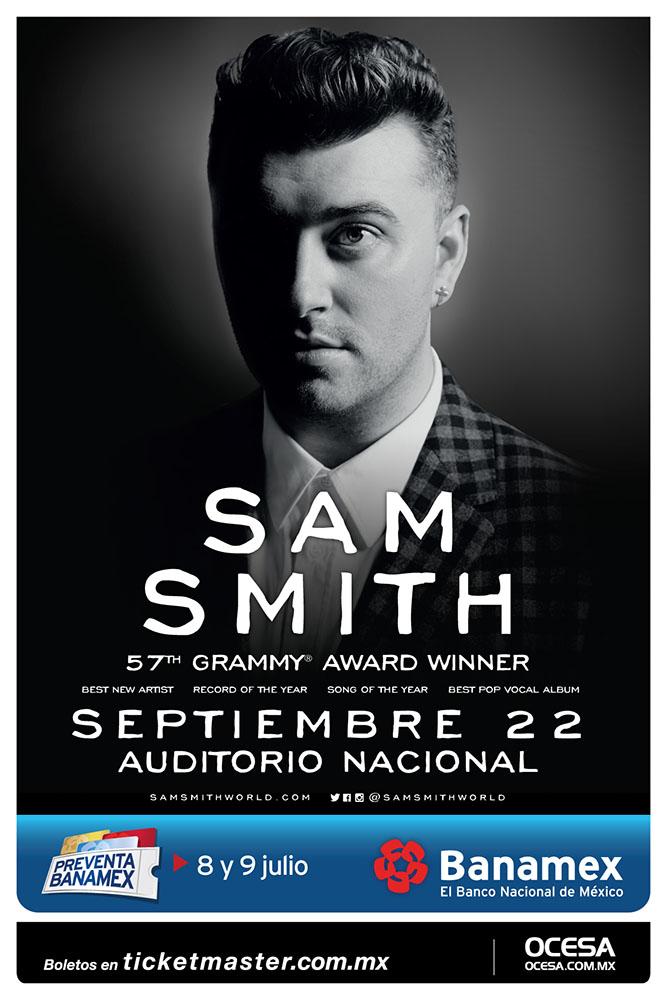 Sam Smith Tour Presale