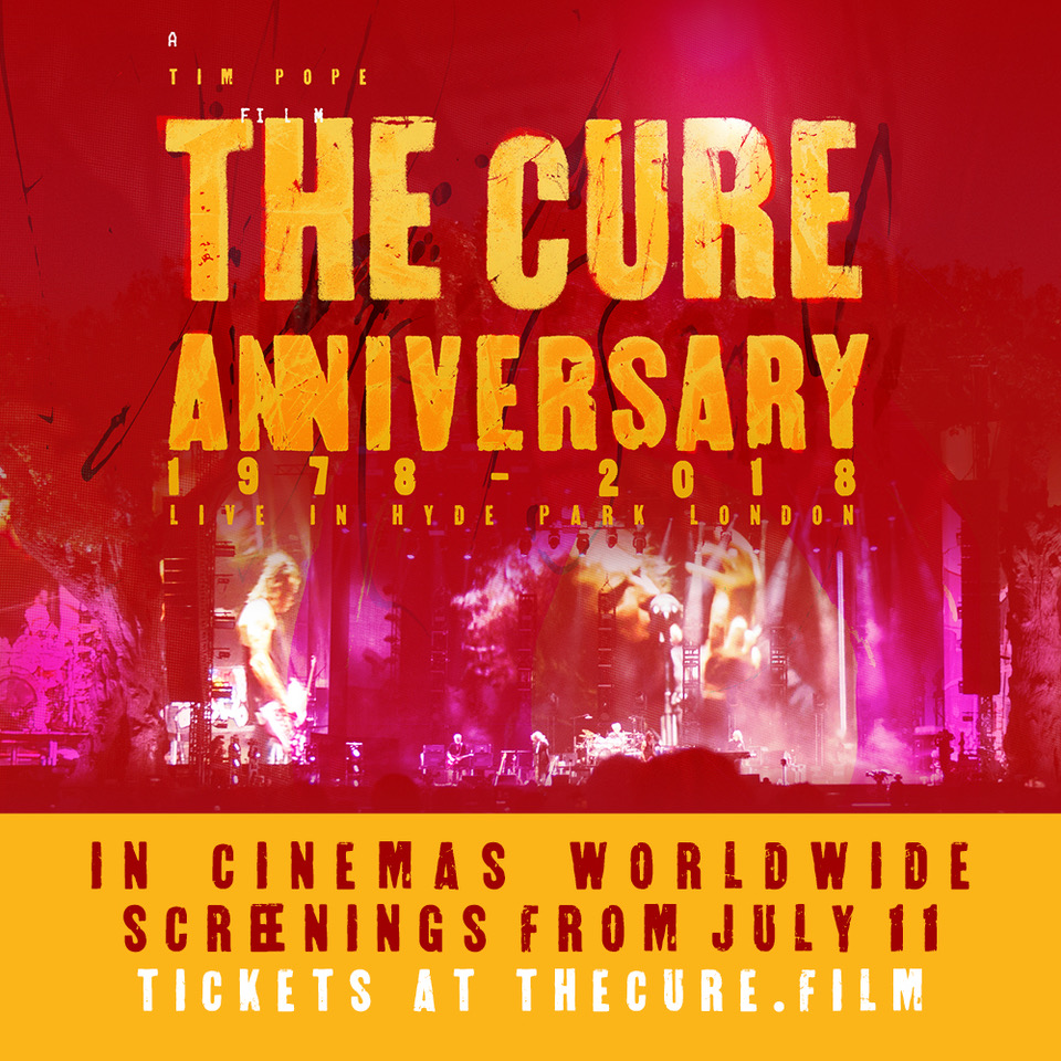 Image result for The Cure: Anniversary 1978-2018 Live in Hyde Park