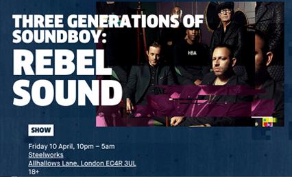RBMA UK Tour – Rebel Sound