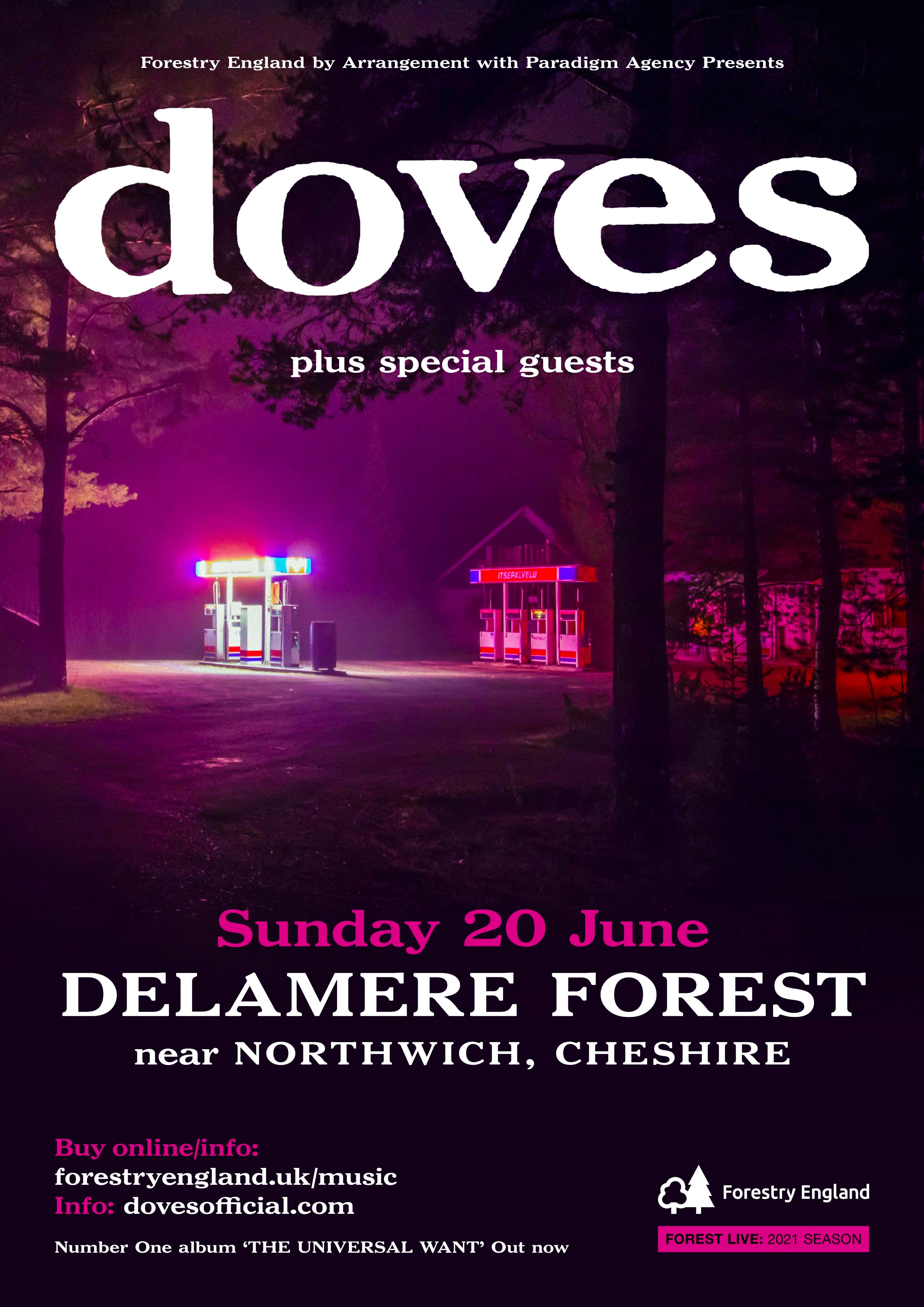 Image for article: Halifax & Delamere Forest Shows Announced
