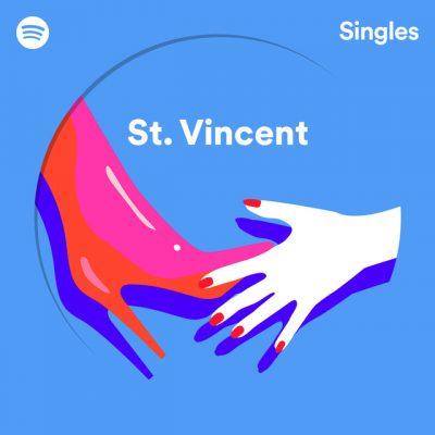 st. vincent – spotify singles
