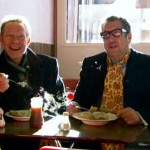 Steve and Paul go for Pie and Mash
