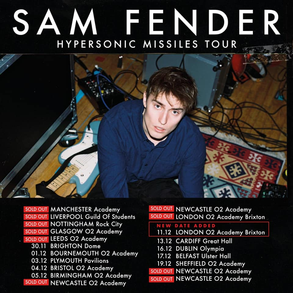 Sam Fender - Hypersonic Missiles Tour