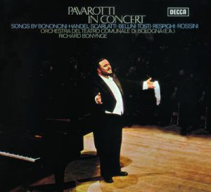 Pavarotti in Concert by Luciano Pavarotti, Orchestra del Teatro Comunale di Bologna & Richard Bonynge
