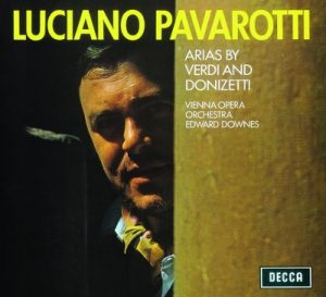Arias by Verdi & Donizetti by Luciano Pavarotti, Sir Edward Downes & Wiener Opernorchester