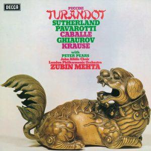 Puccini: Turandot by Luciano Pavarotti, Dame Joan Sutherland, Montserrat Caballé, Nicolai Ghiaurov, John Alldis Choir, London Philharmonic Orchestra & Zubin Mehta