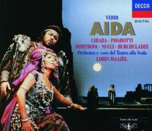 Verdi: Aïda by Coro del Teatro alla Scala di Milano, Lorin Maazel, Luciano Pavarotti, Maria Chiara & Orchestra del Teatro alla Scala di Milano