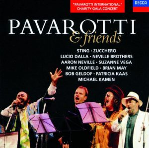 Pavarotti & Friends by Luciano Pavarotti, Aaron Neville, Bob Geldof, Brian May, Lucio Dalla, Mike Oldfield, Neville Brothers, Sting, Suzanne Vega & Zucchero