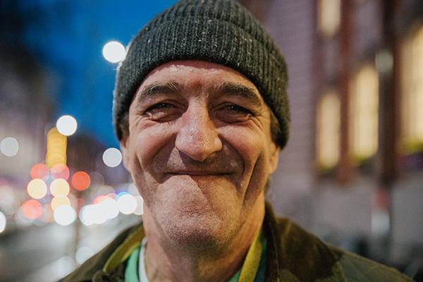 Henry, Homeless, Stories, UK