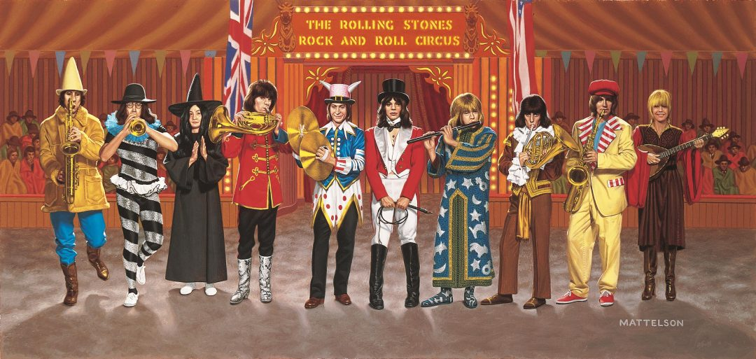 Filming of The Rolling Stones Rock and Roll Circus supporting image