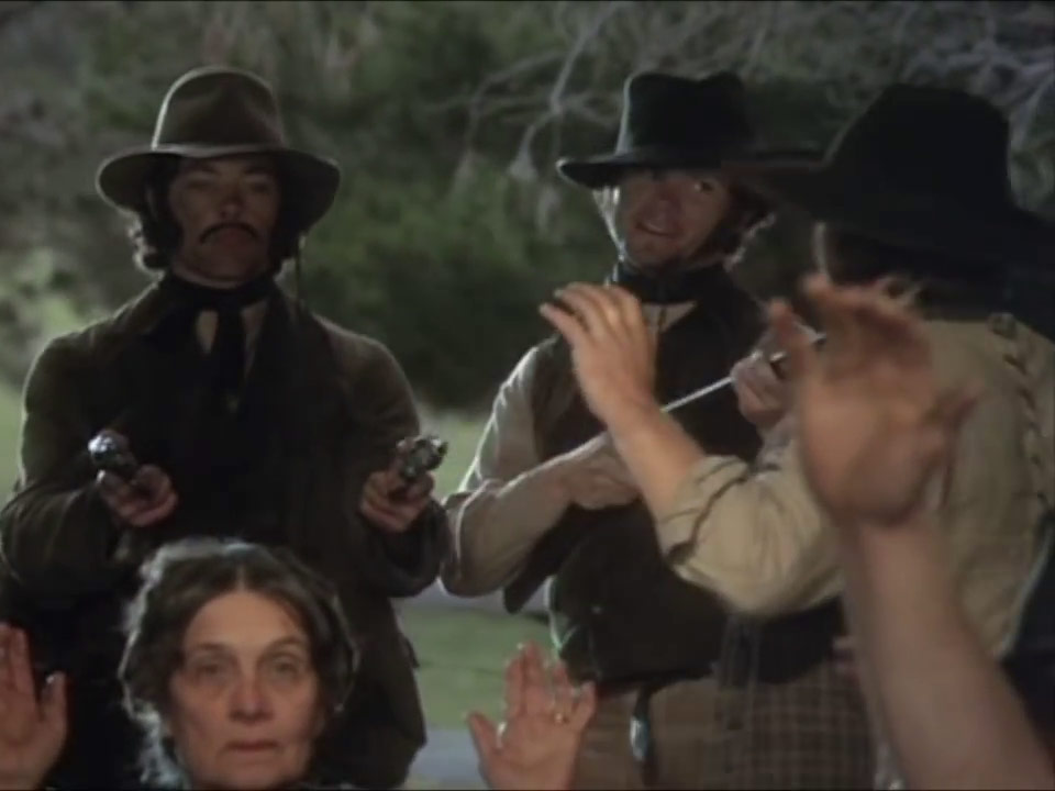 Scene from the Ned Kelly film