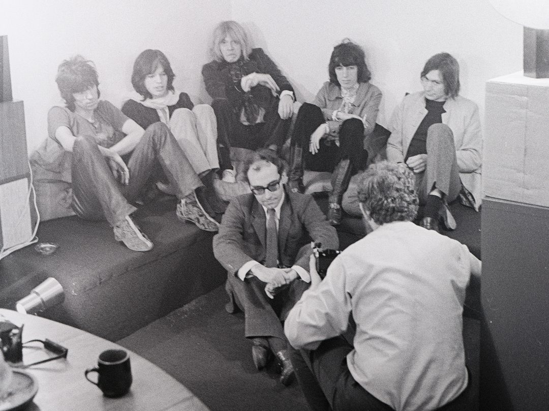 The Stones and Jean-Luc Godard