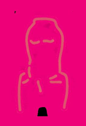 Person Glow Pattern