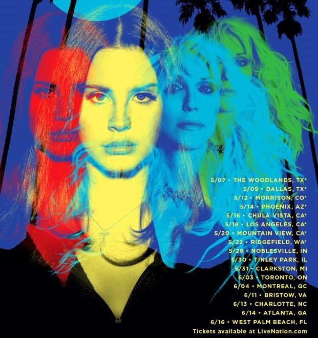North American 2015 Tour Announced Lana Del Rey