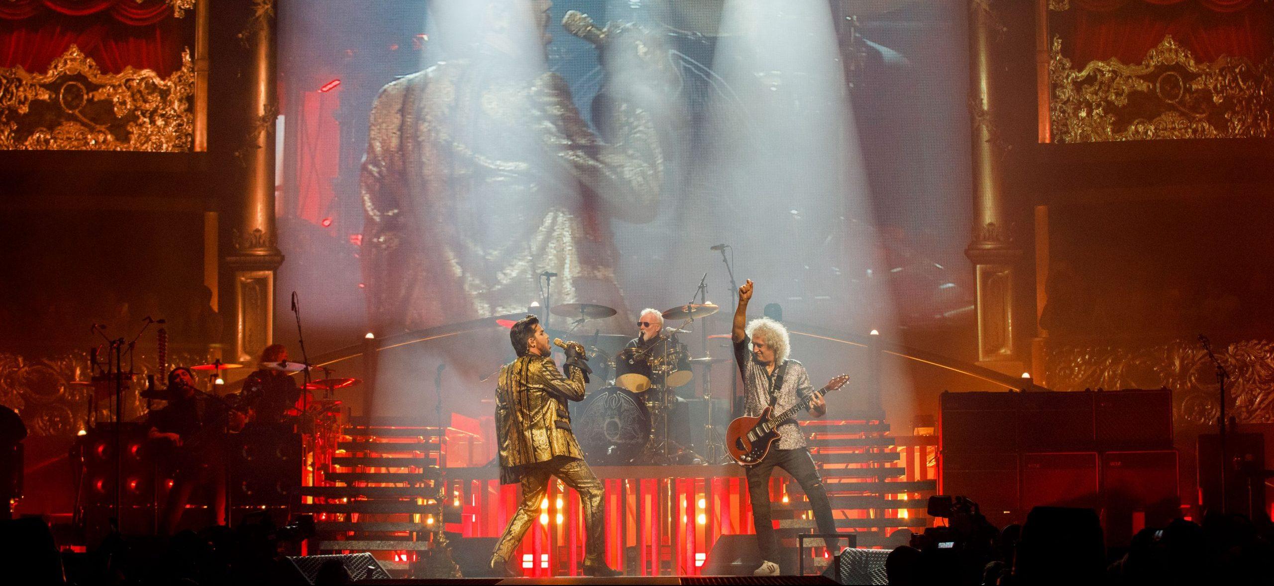 Queen & Adam Lambert Live